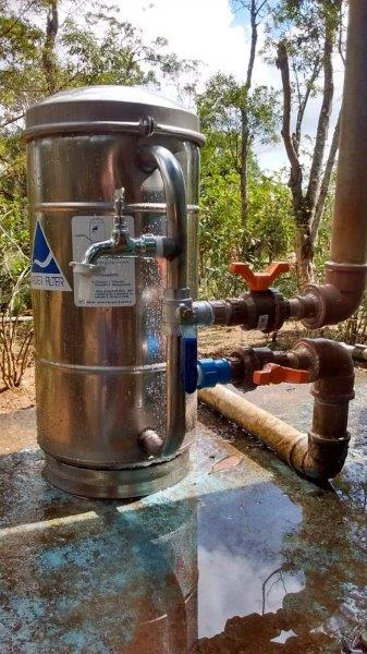 Filtro agua inox
