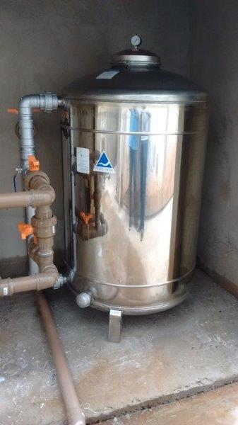 Filtro de agua predial