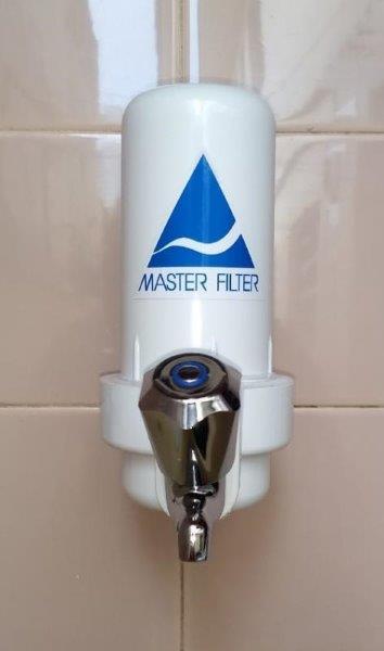 Filtro para ponto de entrada de água