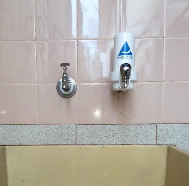 Filtro para ponto de uso
