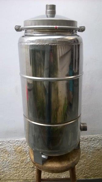 Filtros centrais em aço inox