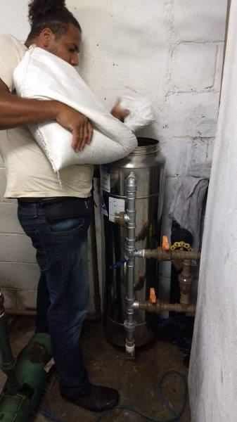 Manutençao filtro central