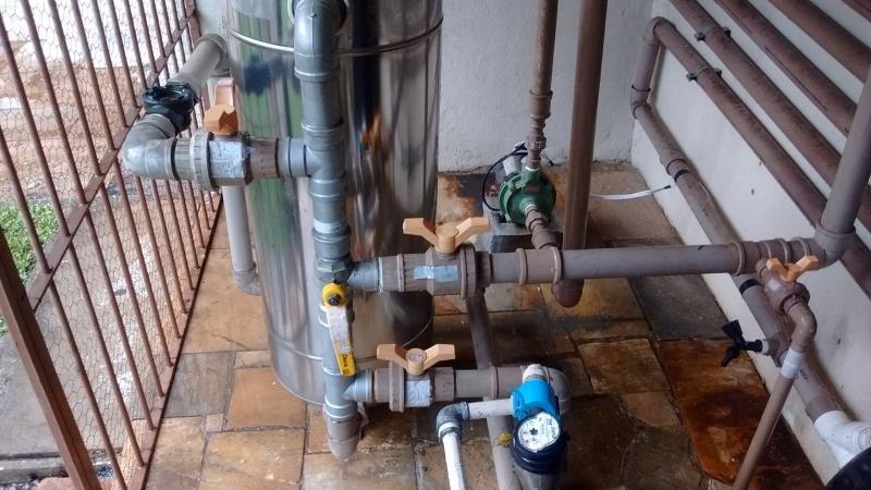 Sistema de tratamento de agua de poço