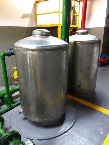 Sistema de tratamento de agua de poço artesiano