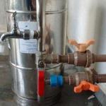 Filtro central para residencia