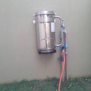 Filtro de agua para cavalete de entrada